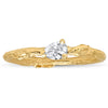 Diamond Pear Willow Ring