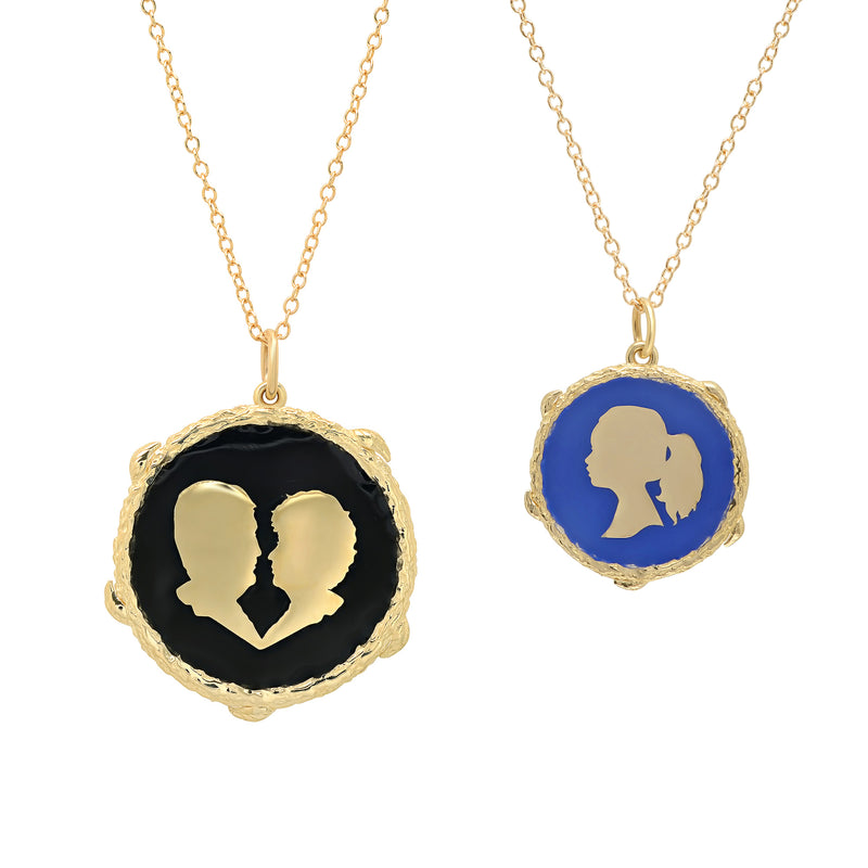 Custom Silhouette Necklace