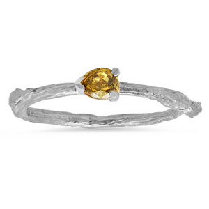 Fancy Diamond Willow Ring