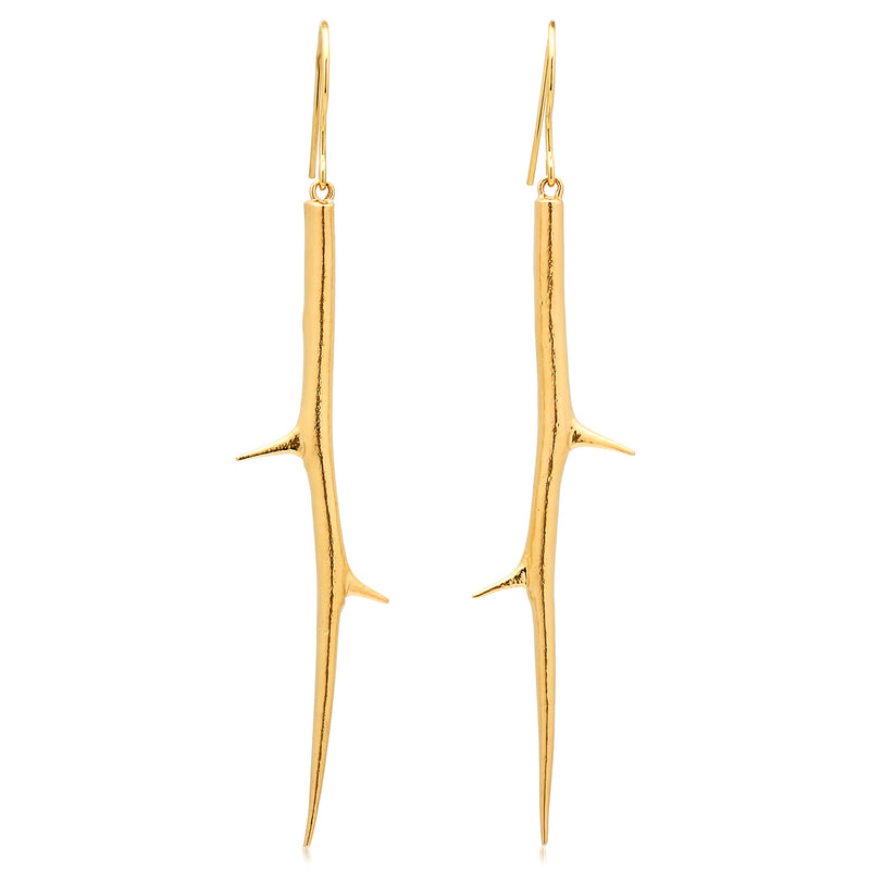 Long Thorn Earrings