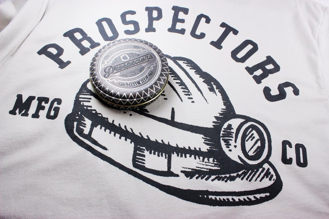New Prospectors Coal Mine Tee, N2Rage Barbershop