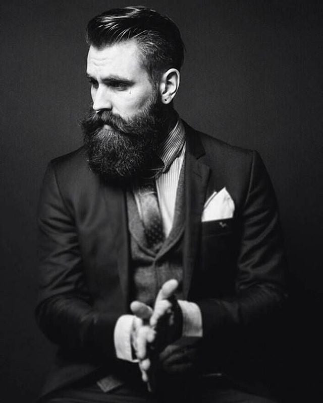 rickisamhall instagram post with prospector pomade