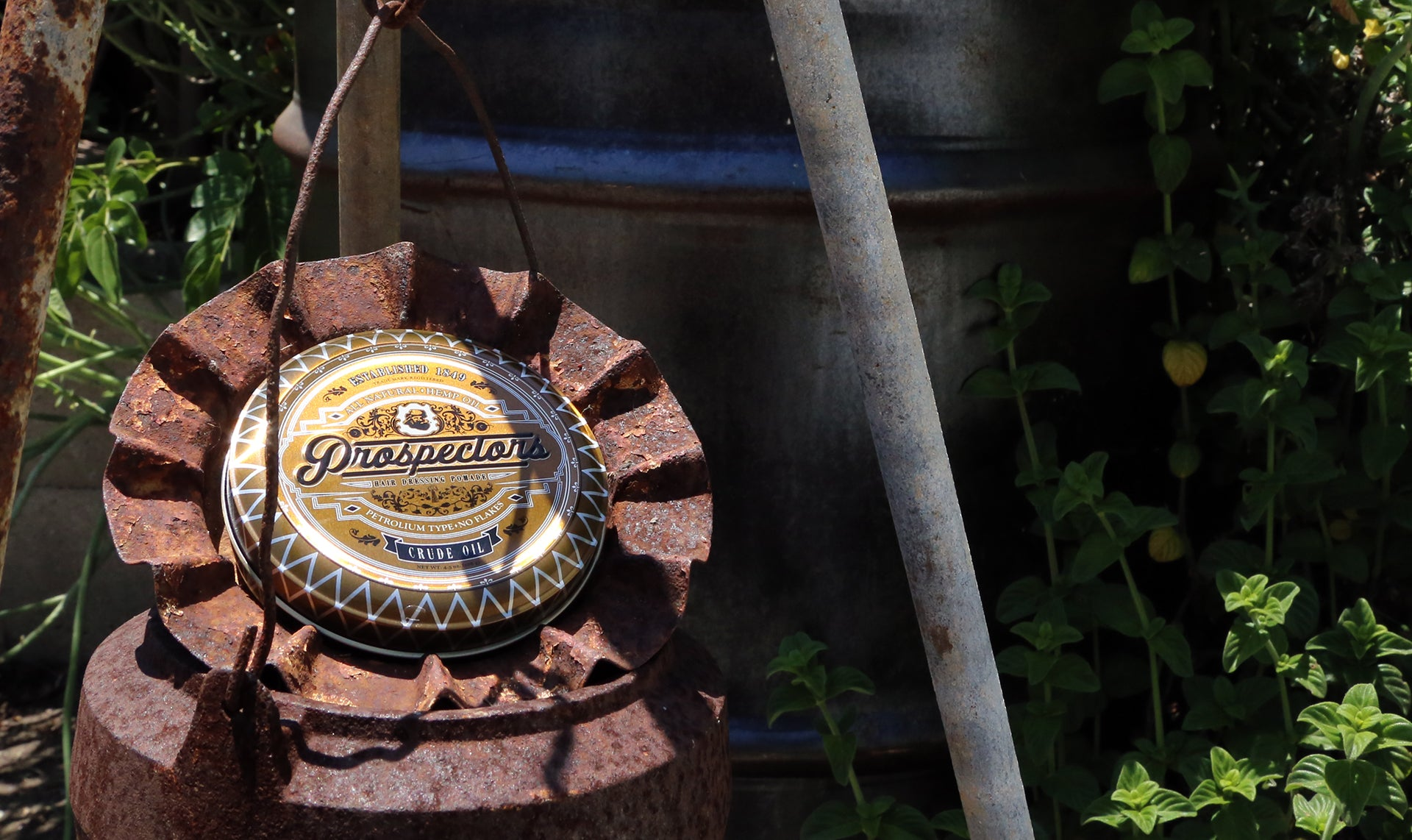 Prospectors Crude Oil oilbased pomade