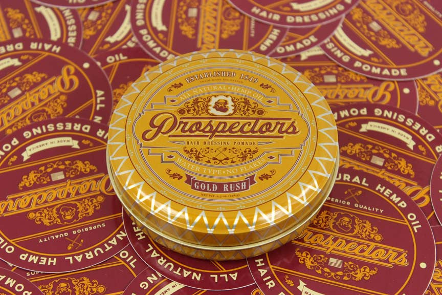 beautiful photo of pomade from prospectors company