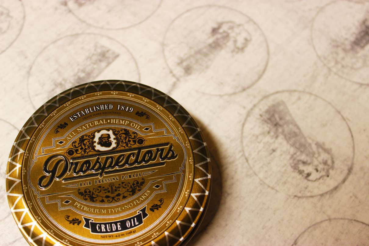 prospectors pomade is the best hair styling product in the world