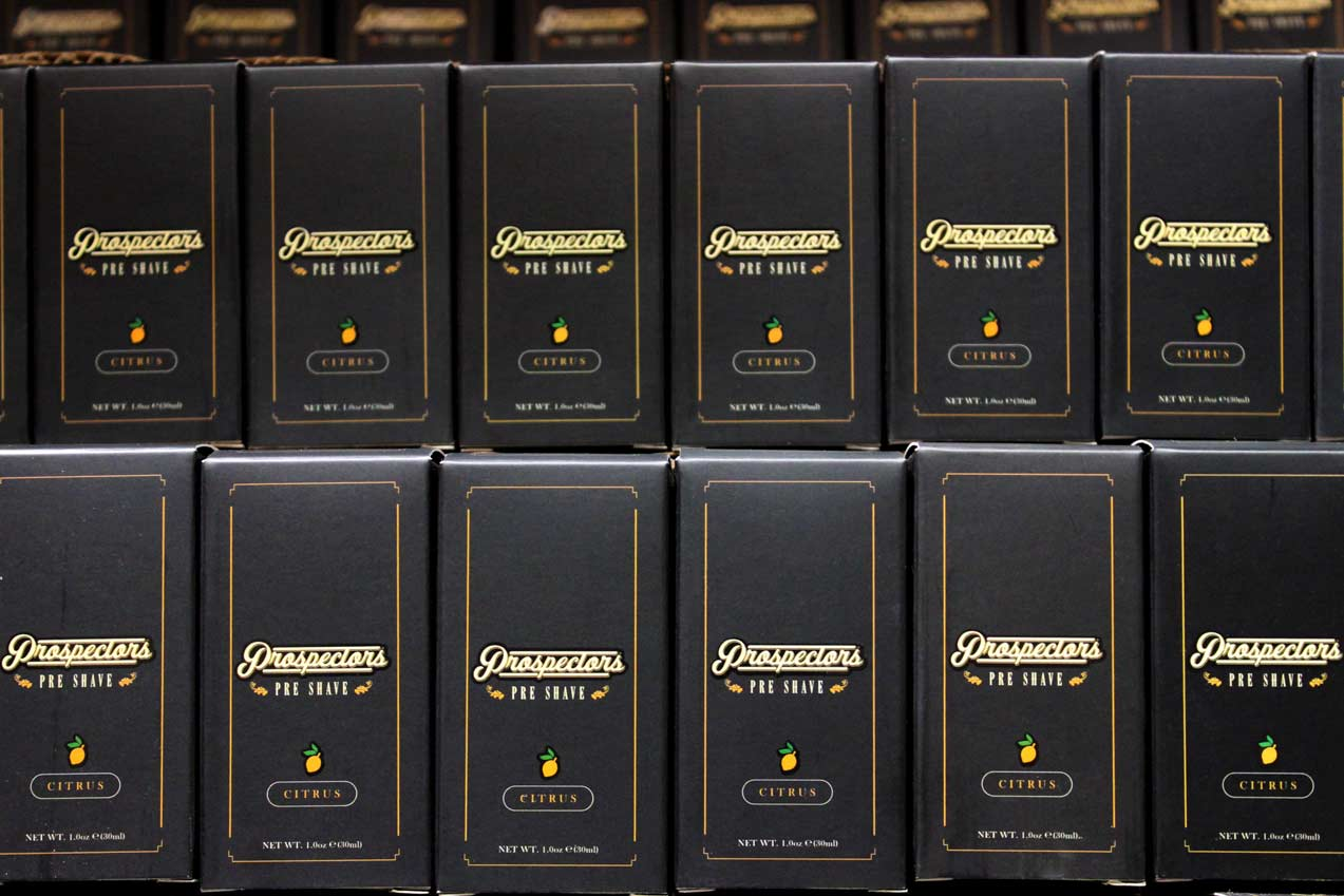 a serious wall of prospectors preshave oil for your shaving routine in the morning