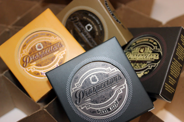 Prospectors Pomade Coal Mine Assorted Mens Grooming