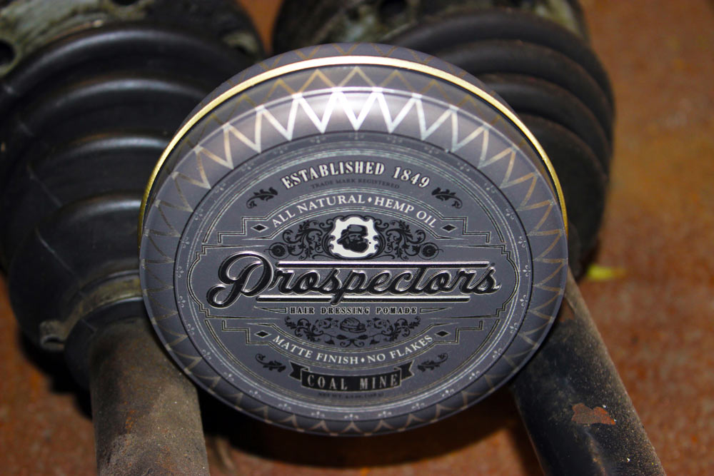 Prospectors Pomade Coal Mine Photo Up Close