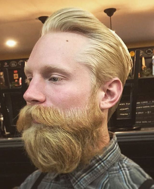 barbeeranaheim beard cut with prospectors beard oil and pomade