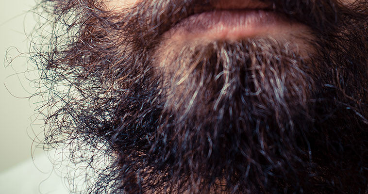 beard-growing-products unruly beard with greys