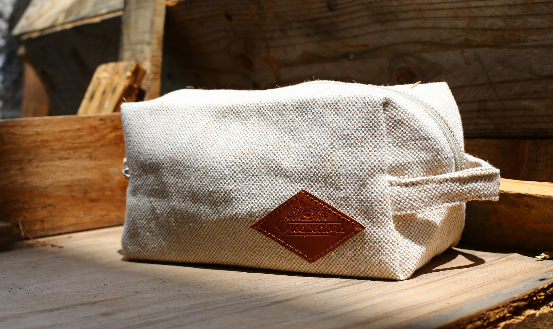 Prospectors Pomade Hemp Toiletry Bag