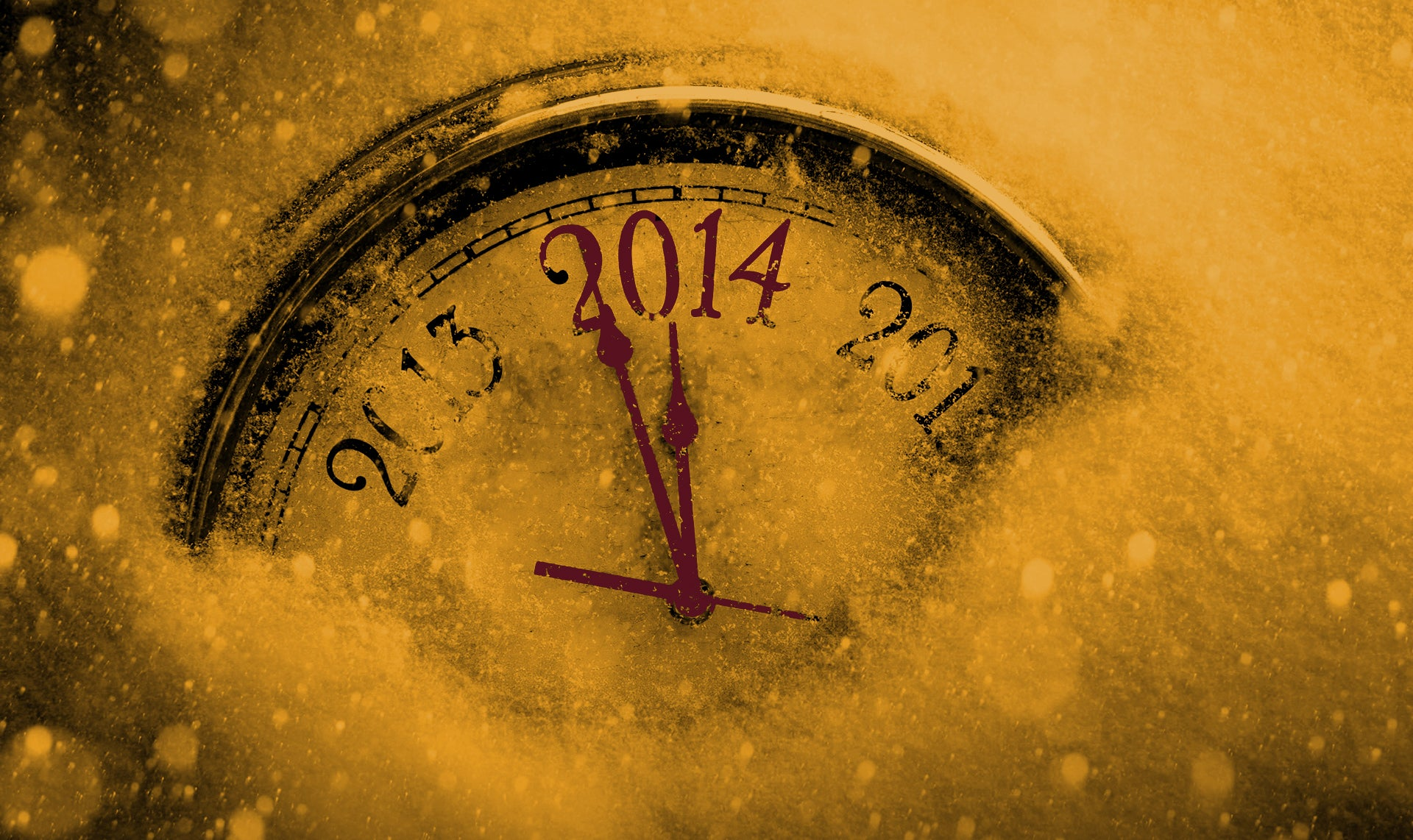 Timeclock closing in on the end of 2014