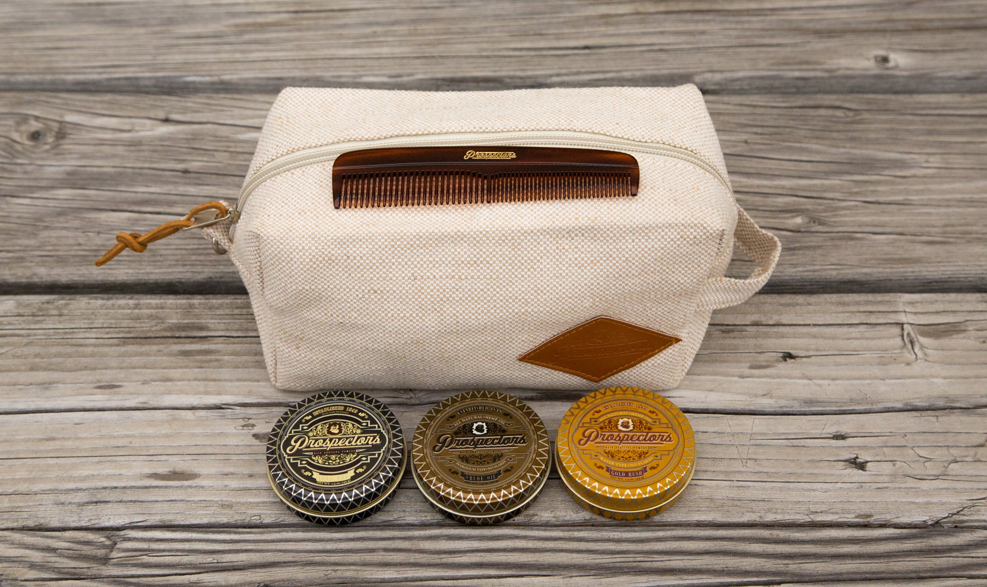 Prospectors Pomade Travel Pack
