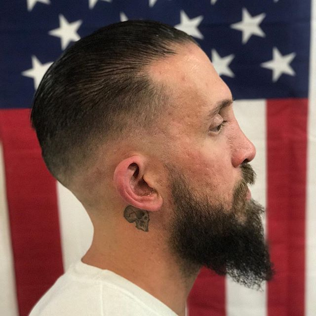 Jordan Anthony Haircuts & Straight Razor Shaves @leftys805barbershop 7363 El Camino Real, Atascadero CA🇺🇸 ⚡=805-538-5150=