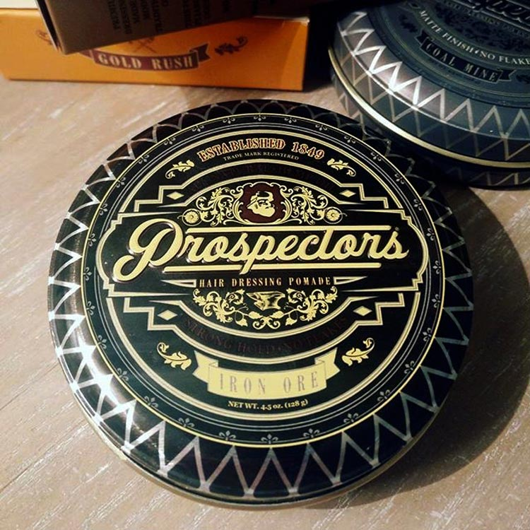 Prospectors Pomade Iron Ore Can