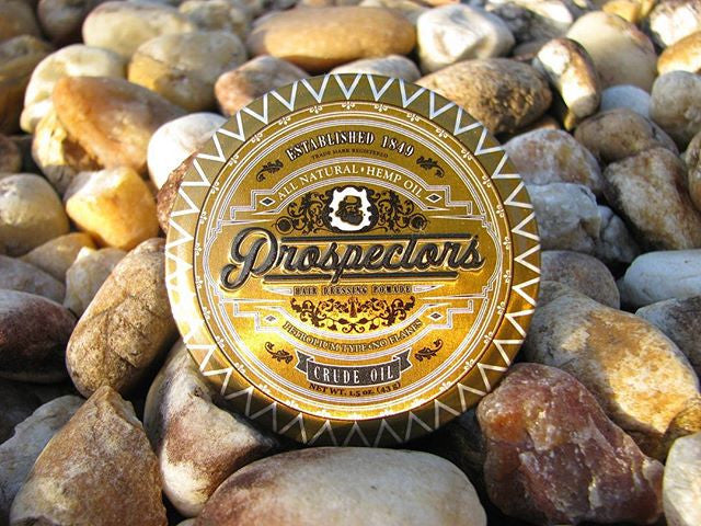 the.pomade.review instagram post and review prospectors pomade