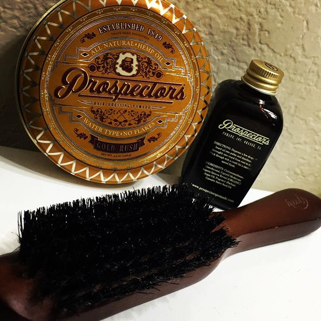 toddthesailor brush prospectors pomade and beard oil