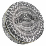 Prospectors Coal Mine Matte Pomade 15 ounce tin jar - Front view