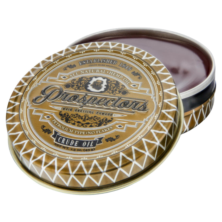 Prospectors Crude Oil Pomade 1.5oz - Open