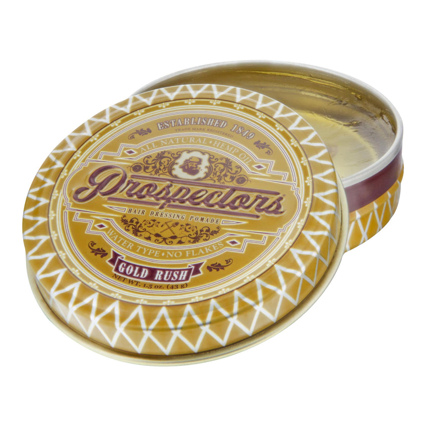 Prospectors Gold Rush 1.5oz Tin - Open