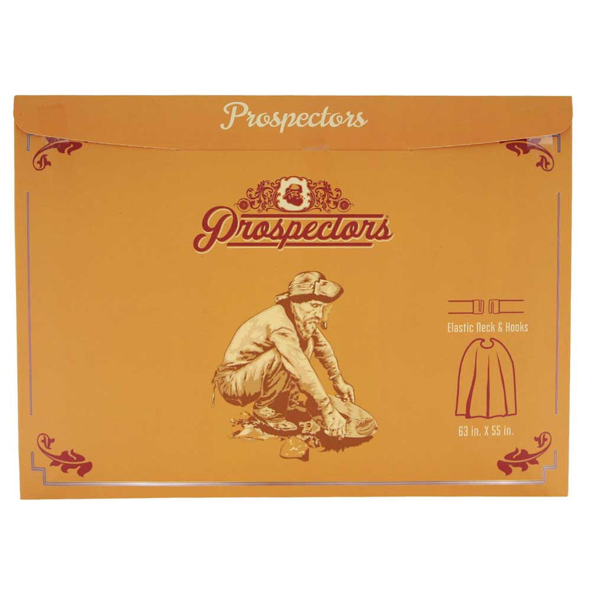Prospectors Barber Cape - Burgundy
