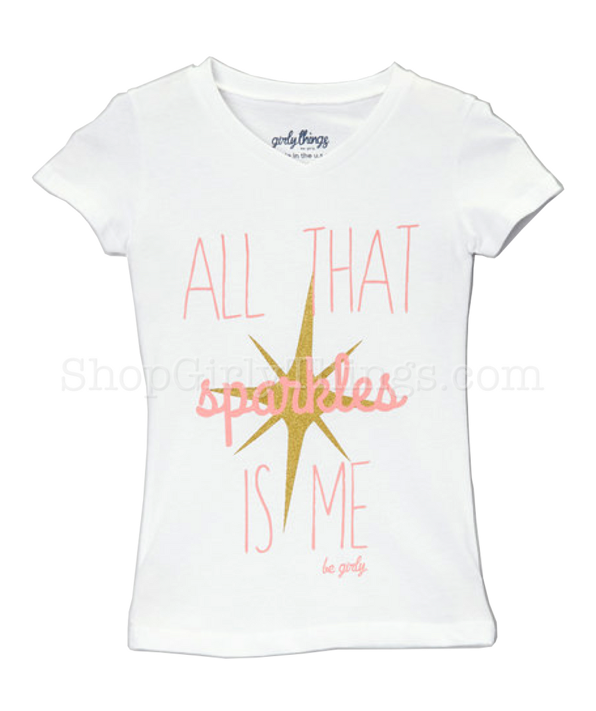 All That Sparkles is Me Tee