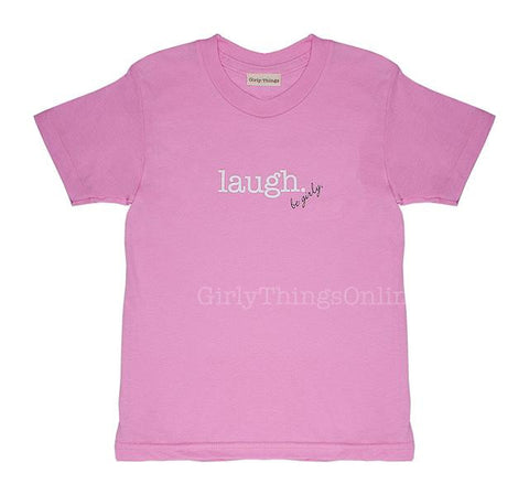 Laugh Inspired Tee - Pink