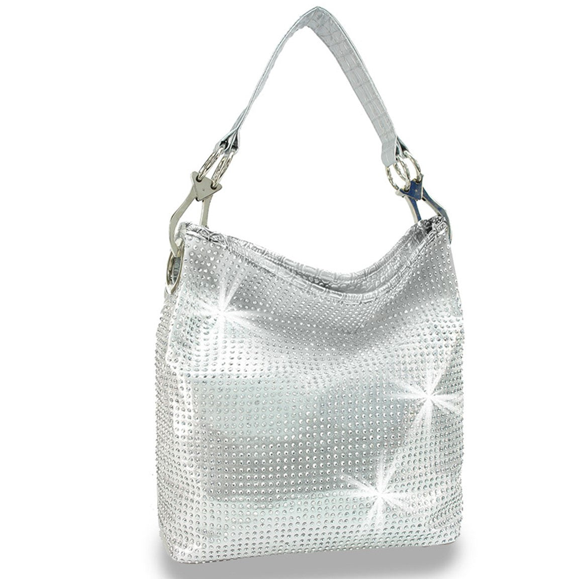VSB Handbags Hobo Handbag with Studs