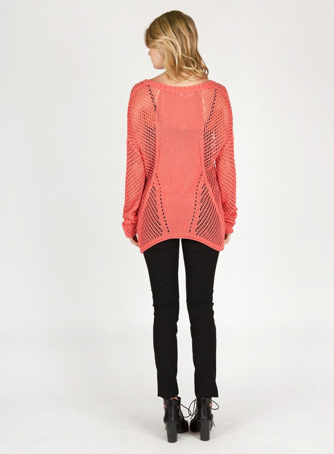 BLAKE Open Weave Sweater - Vegastyleboutique.com  - 6