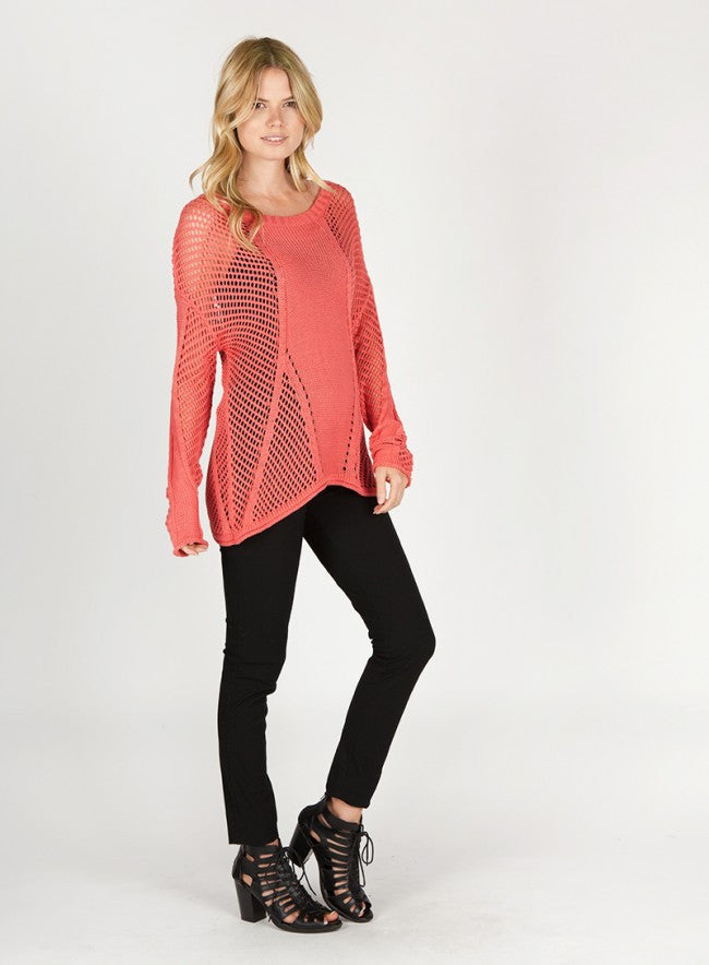 BLAKE Open Weave Sweater - Vegastyleboutique.com  - 5