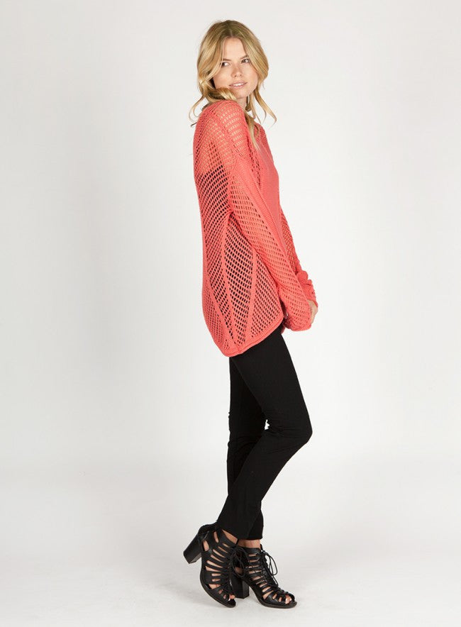 BLAKE Open Weave Sweater - Vegastyleboutique.com  - 4