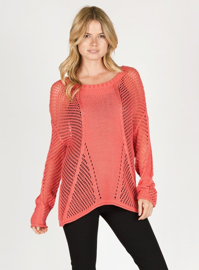 BLAKE Open Weave Sweater - Vegastyleboutique.com  - 2
