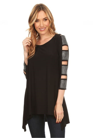 MONIQUE Curvy Tunic Top