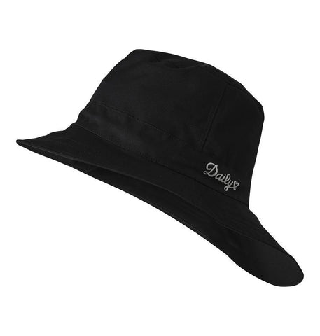 Daily Sports Merion Black Rain Hat - Gals on and off the Green