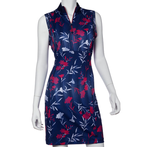 EP Pro Graphic Jam Sleeveless Floral Dress