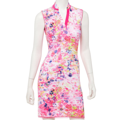 EP Pro Soleil Sleeveless Floral Dress - Gals on and off the Green