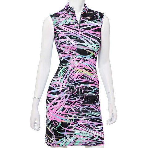 EP Pro True Colors Sleeveless Swirl Dress