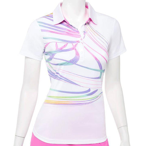 EP Pro True Colors Swirl Polo - Gals on and off the Green