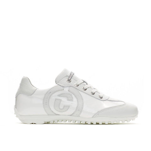 Duca Del Cosma Kubana White Golf Shoe - Gals on and off the Green