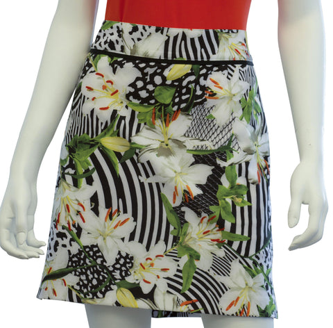 EP Pro Culture Clash Animal Tiger Lily Print Skort