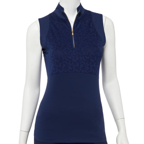 EP Pro The Taj Cutaway Sleeveless Polo