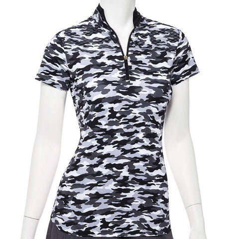 EP Pro Wild Card Camo Print Polo - Gals on and off the Green