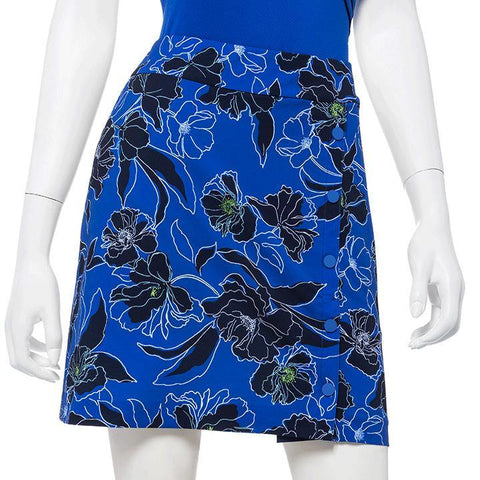 EP Pro Out of the Blue Floral Pull On Skort
