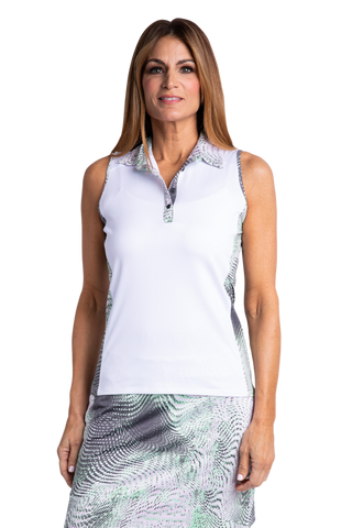 Sport Haley Aquarius Keara Sleeveless Polo