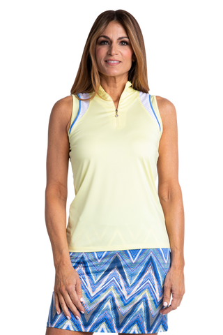 Sport Haley Riviera Bitsy Sleeveless Polo