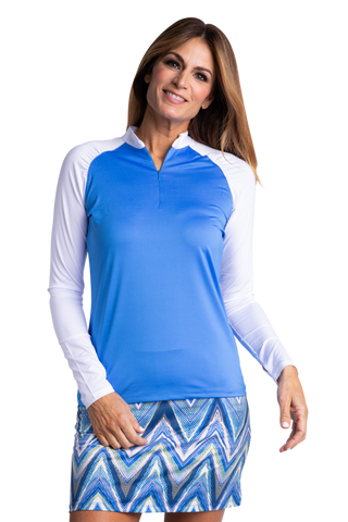 Sport Haley Riviera Ali Long Sleeve Polo