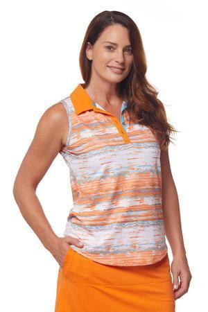 Bette & Court Reverie Vista Sleeveless Polo
