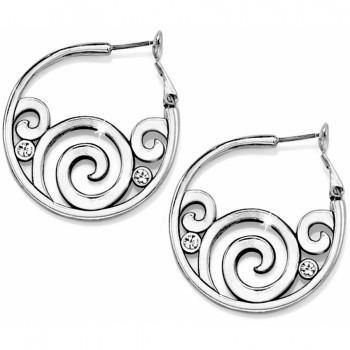 Brighton London Groove Hoop Earrings