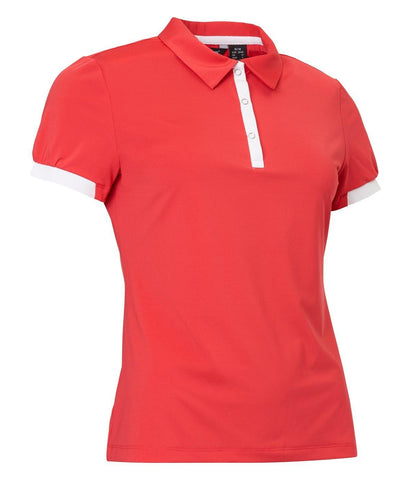 Abacus LDS Cherry Short Sleeve Polo