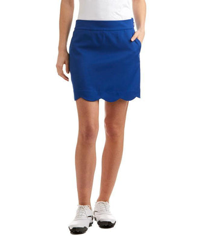 Vineyard Vines Scalloped Solid Skort
